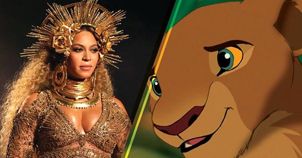 Beyonce starring in Disney's Lion King film