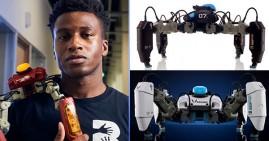 Silas Adekunle, founder of Reach Robotics