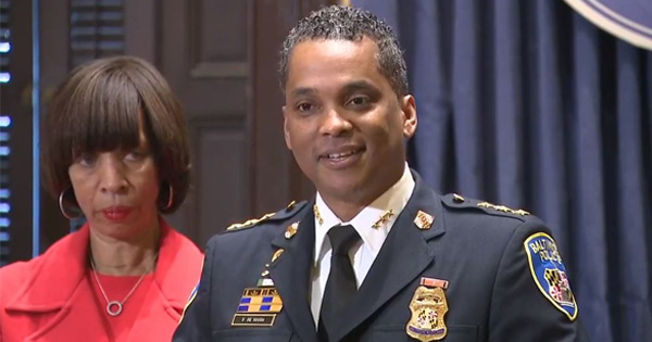 Baltimore Mayor Catherine Pugh appointed Police Commissioner Darryl DeSousa