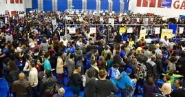 Students at the ASBC Foundation HBCU College Festival