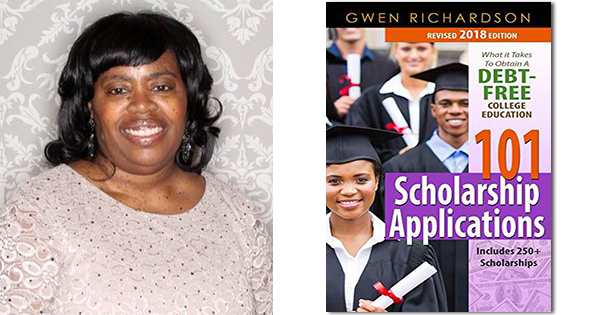 Gwen Richardson, author of 101 Scholarship Applications