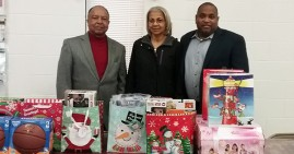 Roanoake Valley Southern Christian Leadership Conference toy distribution