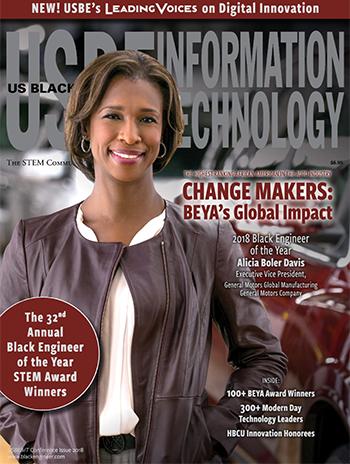 USBE Magazine cover featuring Alicia Boler Davis