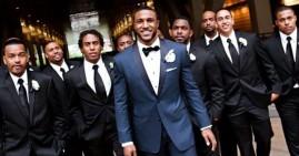 Black men observing prostate cancer awareness day