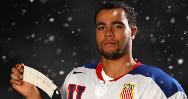 Jordan Greenway, first African American to join U.S. hockey team in the Winter Olympics
