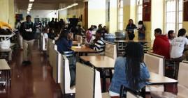 NYC school cafeteria