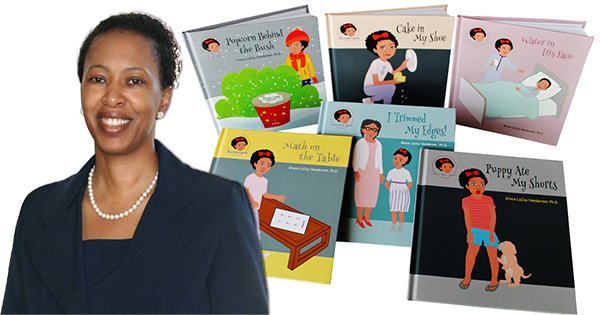 Grace LaJoy Henderson, PhD, Author-Illustrator of The Gracie Series