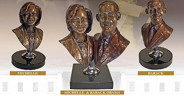 Obama Bronze Sculptures