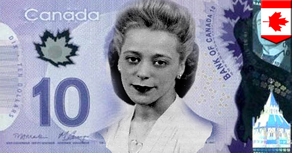 Viola Desmond featured on the new Canadian bill