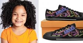 Amiya Steed, founder of Amiya footwear