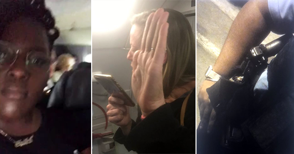 Amber Phillips, woman who says American Airlines call the police because she was flying while fat and black