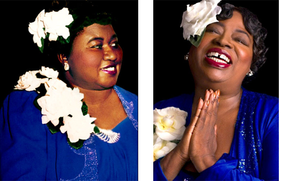 Vickilyn Reynolds as Hattie McDaniel in a new musical stageplay
