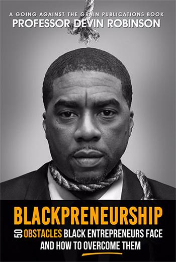 Book cover for Blackpreneurship by Devin Robinson