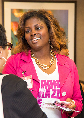 Sateria Venable, founder of the Fibroid Foundation