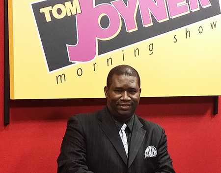 Orrin Hudson featured on the Tom Joyner Morning Show