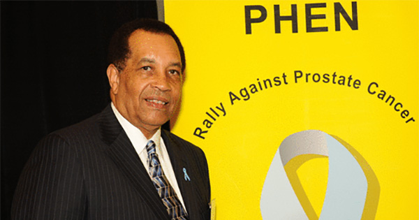 Thomas Farrington, founder of the Prostate Health Education Network (PHEN)