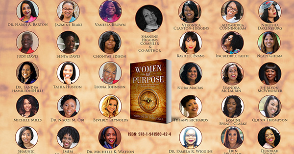 Women of Purpose Bookcover and Authors