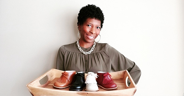 Yolandra Rodgers, CEO & Founder of Tippy Tot Shoes