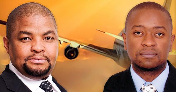 Inati Ntshanga and Taurai Zhanje, co-founders of BBZR Cargo