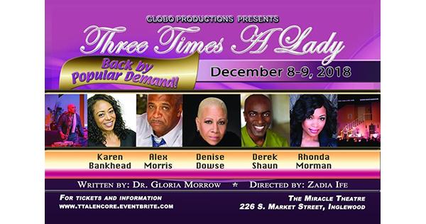 Three Times a Lady by Gloria Morrow