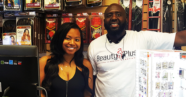 Black-owned beauty supply store