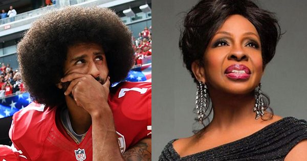 Gladys Knight and Colin Kaepernick