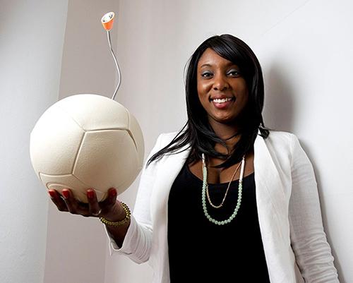 Jessica O. Matthews, inventor of The Sockket