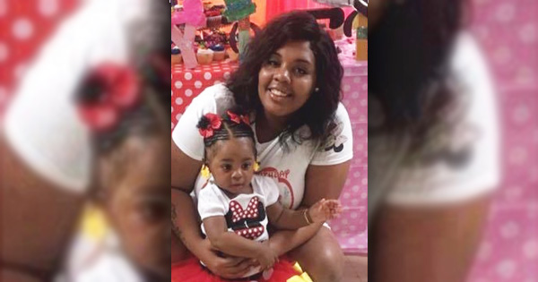 Malaysia Goodson and her 1-year-old daughter