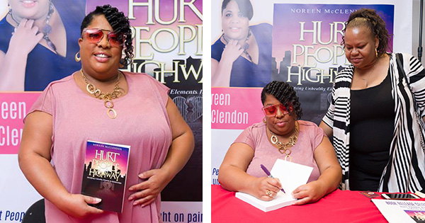 Noreen McClendon, author of Hurt People Highway
