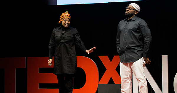 Rufus and Jenny Triplett, the first Black Muslim couple to to do a Ted Talk