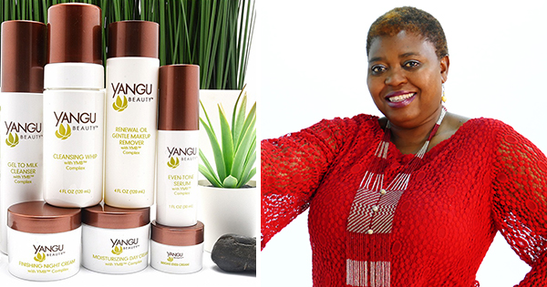 Sipho Gumbo, founder of Yangu Beauty