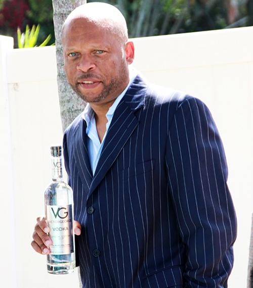 Victor G. Harvey, founder of Victor George Spirits Vodka