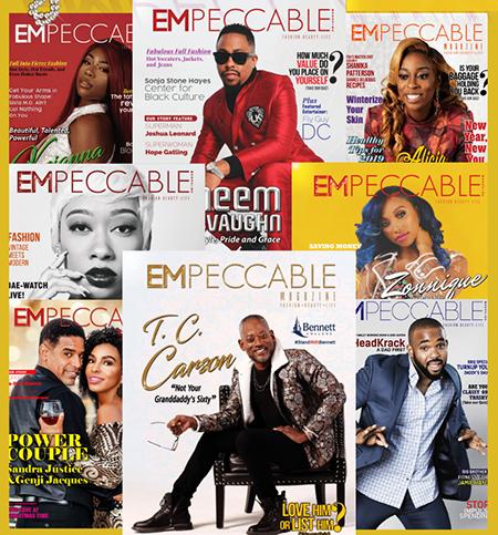 Empeccable Magazine covers