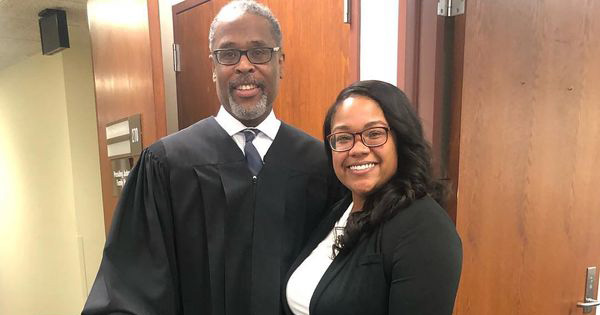 Judge Charles Dortch Carmen and Carmen Allen Day