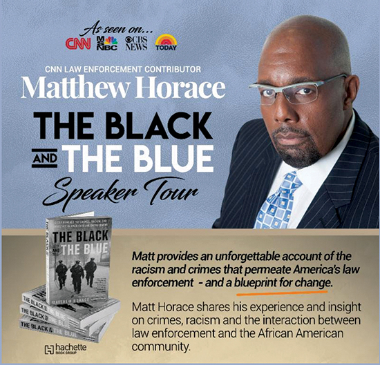 Matthew Horace, The Black and Blue Speaker Tour