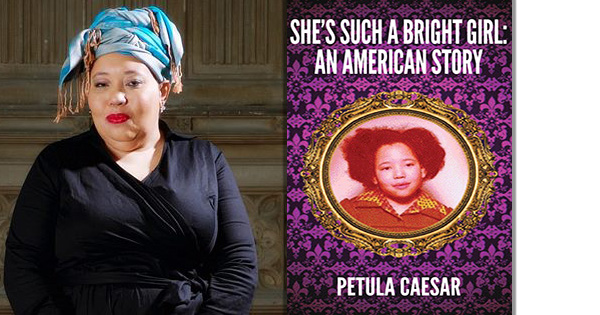 Petula Caesar, author of She's Such a Bright Girl