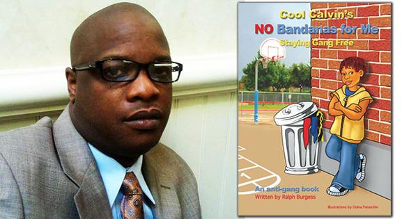 Ralph Burgess, author of the Cool Calvin children's books