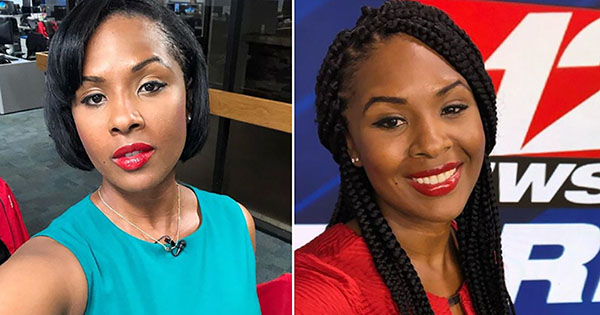AJ Walker, Black reporter who wore braids for the first time on-air