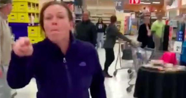 Corrine Terrone was caught on camera yelling racial slurs in a Shop Rite grocery store in Connecticut