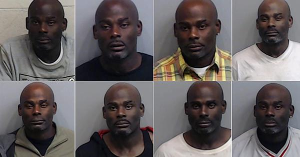 Eddie Brantley, man arrested 70 times