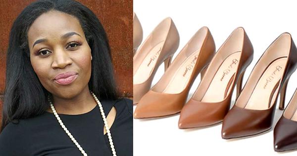Jeneba Barrie, founder of Jeneba Barrie Nude Footwear