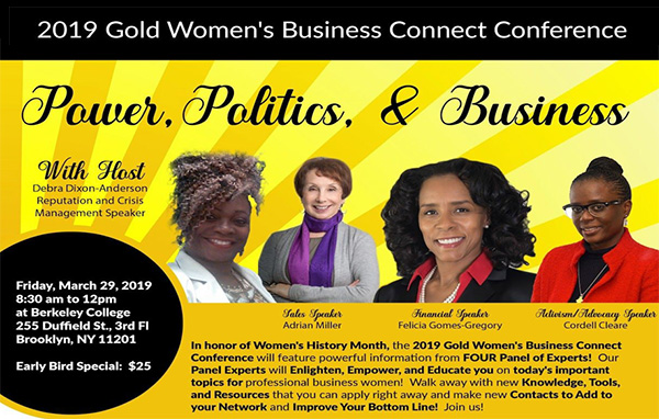 Gold Women Business Connect Conference in Brooklyn