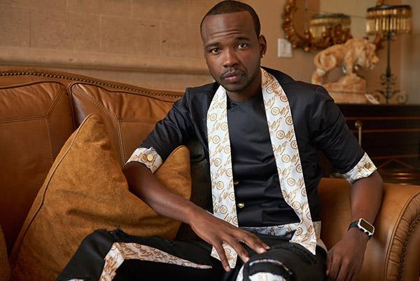 Isaac Moore, luxury fashion designer