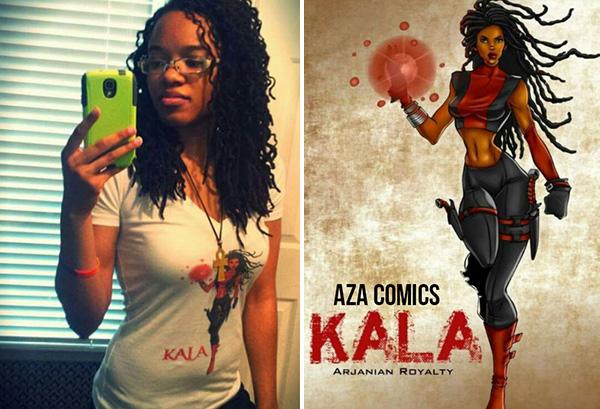 Jazmin Truesdale, creator of the Kala Superhero