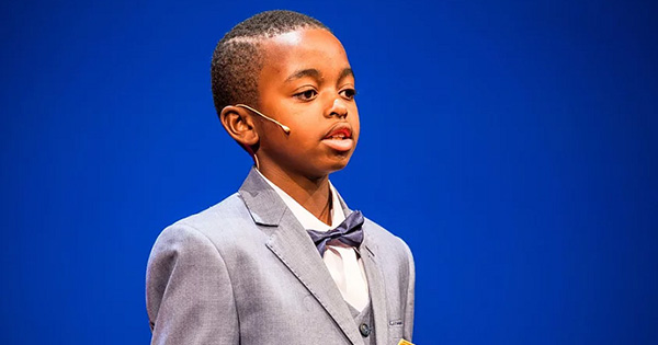 Joshua Beckford, 6-year old autistic student at Oxford University
