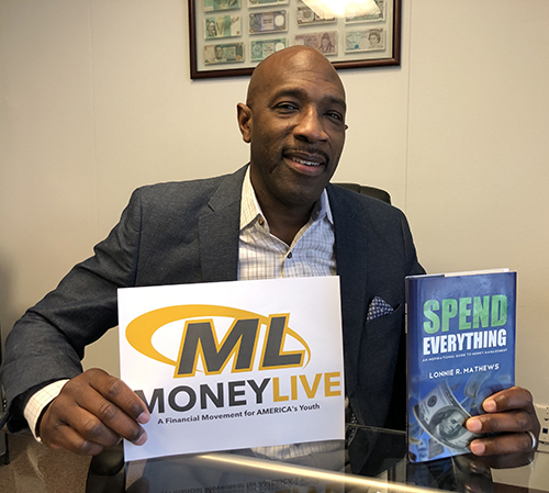 Lonnie R. Mathews, author of Spend Everything