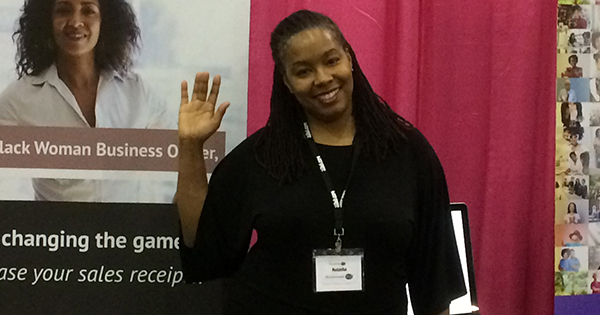 Natasha Taplin, founder of BlackWoman.Biz