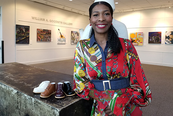 Yolandra Rodgers, CEO and Founder of Tippy Tot Shoes