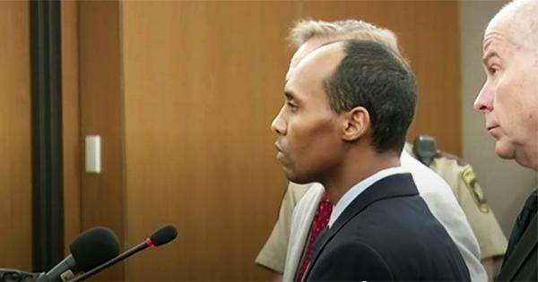 Mohamed Noor, Black cop sentenced for killing white woman