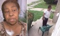 Caught on Camera: Angry Woman Rubs Dog Poop on Her Neighbor's Doorknob